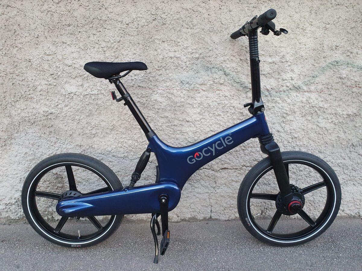 Gocycle G3 Black (mazlietots)