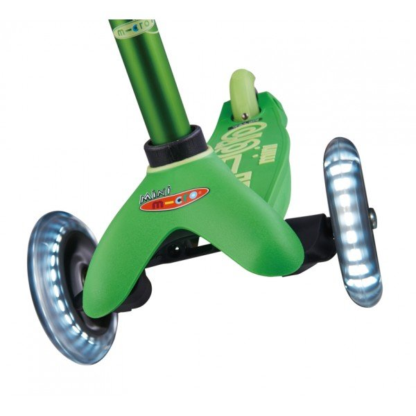 Mini Micro Deluxe LED green