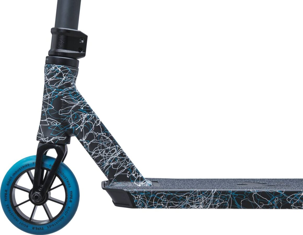 Root Type R Mini Pro Scooter (Splatter Blue)