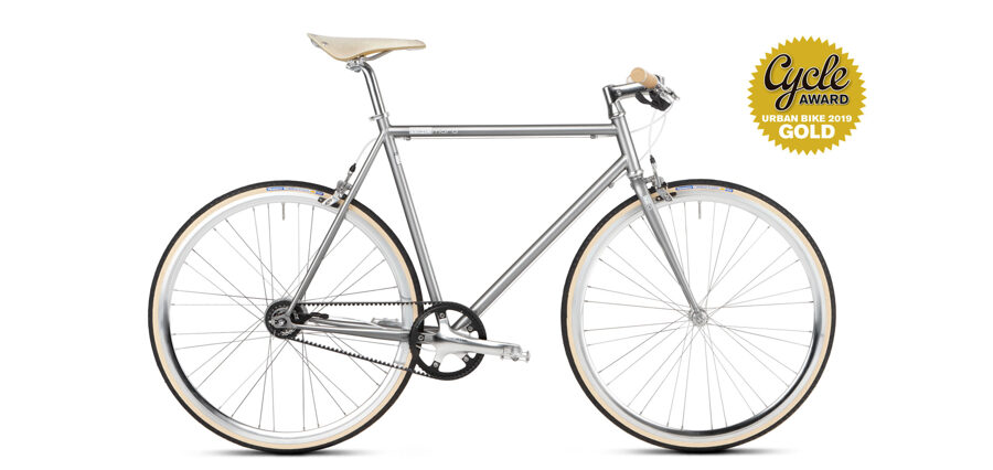 Mikamaro custom grey 8 speed Urban Bike - 58cm